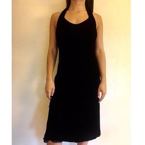 Banana Republic Velvet little black Dress